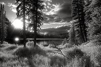 Tiffany Lake, Pesayton Wilderness - Okanogan National Forest, Washington (11416 bytes) www.jeffkrewson.com