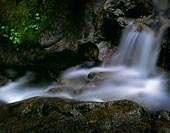 A Small Waterfall, Deception Creek - North Cascade Mountains, Washington (6624 bytes) www.jeffkrewson.com